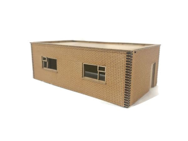 LX314-OO Small Industrial Unit / Lineside Building - OO/4mm/1:76